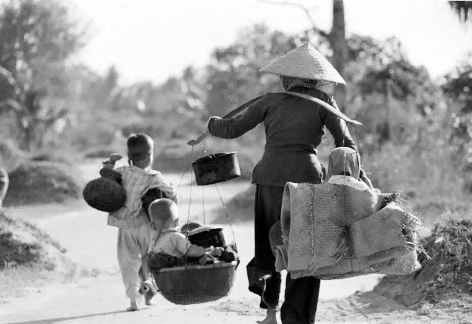 Người dân Miền Nam chạy loạn…