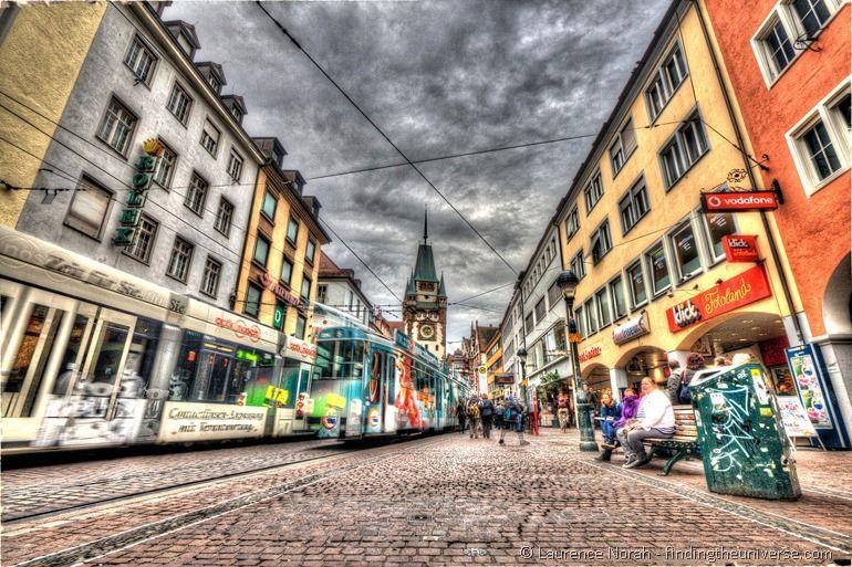 Trams in Freiburg