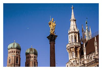 Blick vom Marienplatz