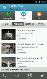 Washington D.C. Travel Guide - screenshot thumbnail