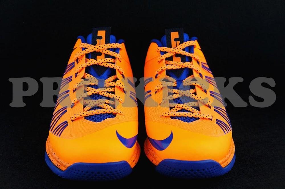 new concept c468e c5fc8 ... Nike Air Max LeBron X Low 8211 Orange Blue 8211 Official Release Date  ...