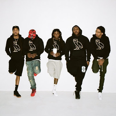 Lil Wayne and Young Money for OVO instagramcomwelcomeovostore