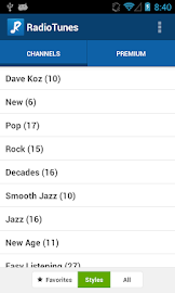 RadioTunes Screenshot 3