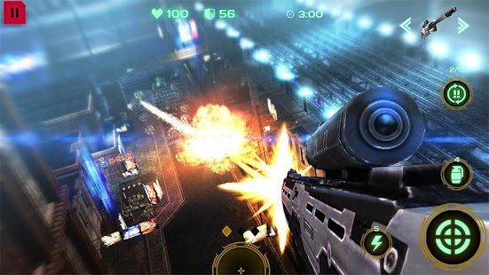 Dead Earth: Age of Mechs & Sci-fi Robot Shooter 3D- screenshot thumbnail
