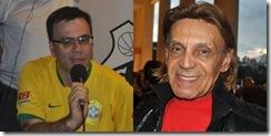 Mauro Beting e Carlos Koppa