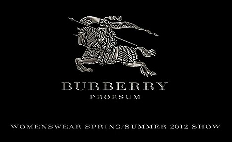Burberry Prorsum Spring Summer 2012  Womenswear