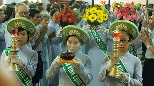 DSC06366 Lễ Hiệp kỵ   Lễ Huý Nhật Cư sĩ Sáng lập viên GĐPT Việt Nam   Tâm Minh Lê Đình Thám