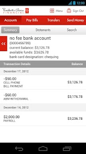 PC Financial Mobile Banking - screenshot thumbnail