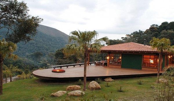 Paisajismo casa en brasil