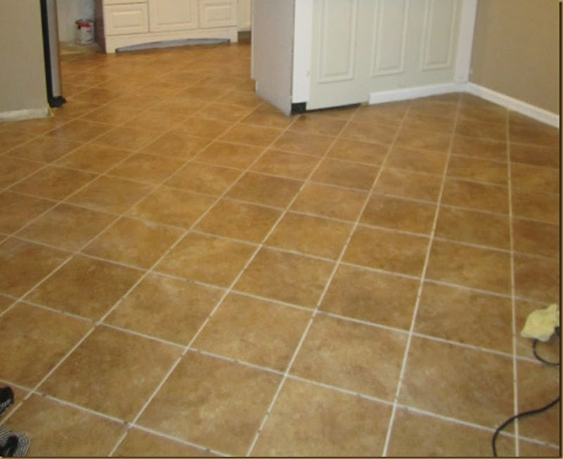 How I Tiled My Floors On The Trafficmaster Ceramica Tiles