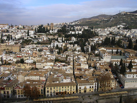 Urme maure Spania: cartierul arab Albaicin