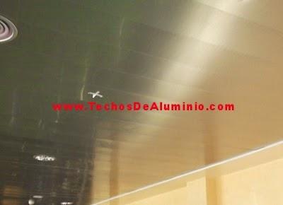 techos de aluminio zafiro