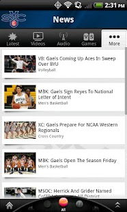 SMC Gaels: Free - screenshot thumbnail