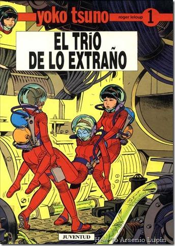 P00001 - Yoko Tsuno  - El trio ext