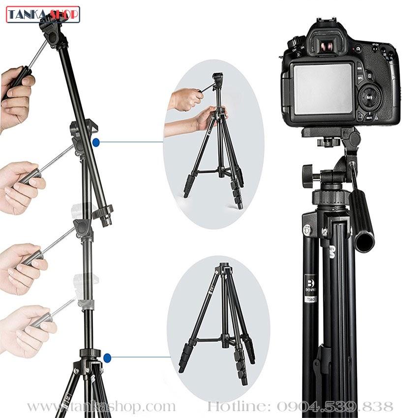 Chân máy ảnh Benro T560