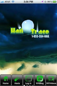 Hail Trace screenshot 0