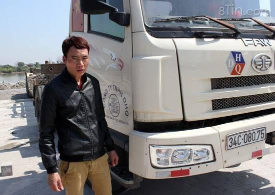 Hải Phòng: Lái xe tải đâm chết người, kéo xác nạn nhân