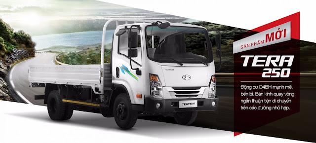 xe tải 2,5 tấn Daehan Teraco Tera 250