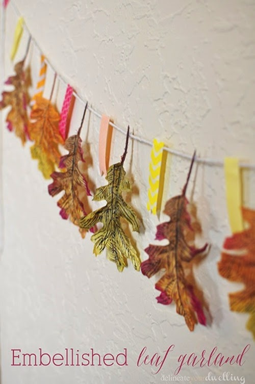Embellished-Leaf-Garland
