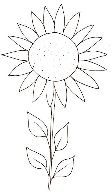 Colorear Dibujos De Girasoles