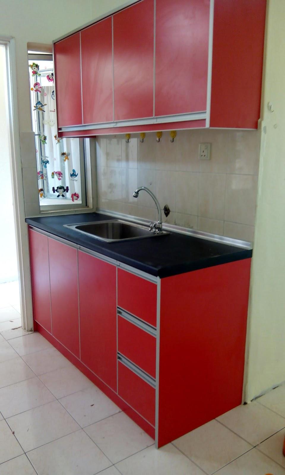 Kabinet Dapur Rumah Flat Ppr Desainrumahid Com
