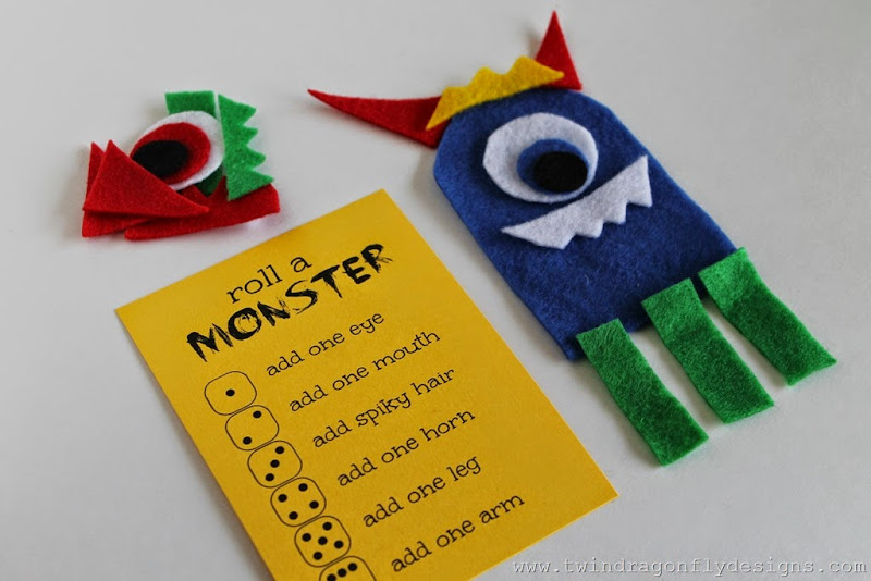 Roll a Monster Game (7)