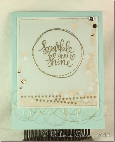 sparkle and shine shaker