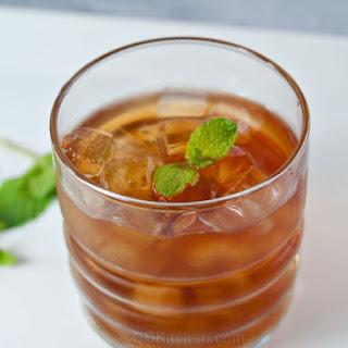 Mint Julep Iced Tea.