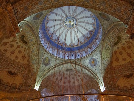 Obiective turistice Istanbul: Cupola moscheea albastra