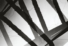 Wolfgang Reisewitz - Poutres incendiées - 1950