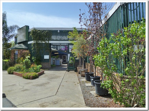 Entrance To The Capital Nursery Location On Freeport Blvd In Sacramento