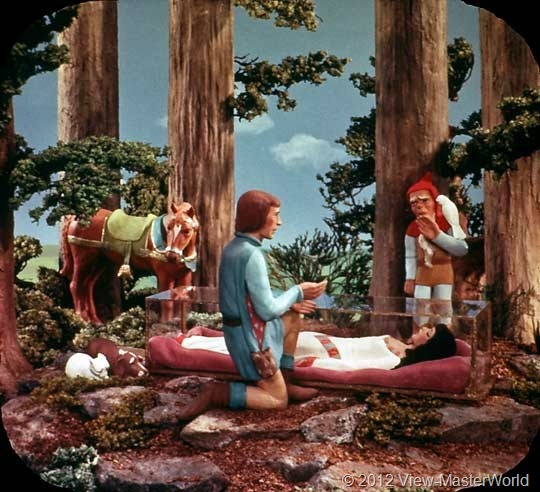 View-Master Snow White and the Seven Dwarfs (B300), Scene 19