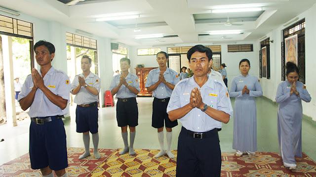DSC06277 Lễ Hiệp kỵ   Lễ Huý Nhật Cư sĩ Sáng lập viên GĐPT Việt Nam   Tâm Minh Lê Đình Thám