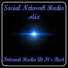Social Network Radio Mix icon