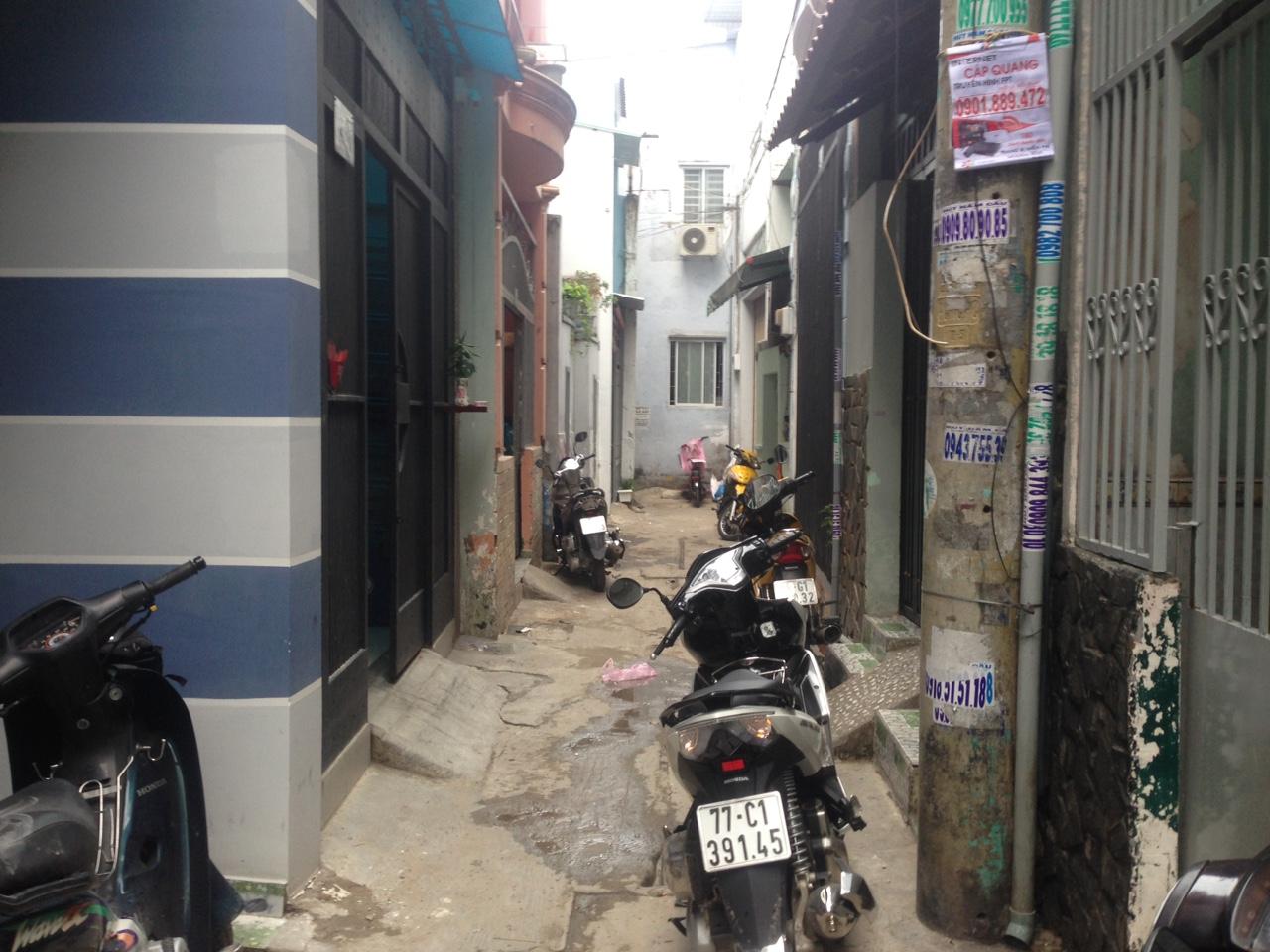 Bán nhà hẻm 146 kênh Tân Hóa Quận Tân Phú 02
