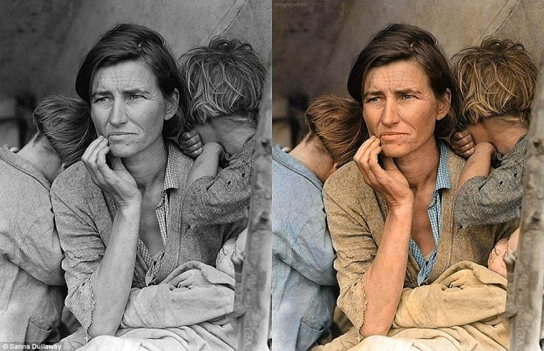 Black And White Pictures Restored