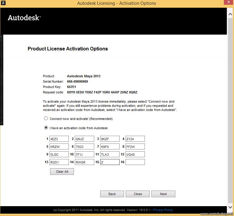 autodesk maya 2013 serial number