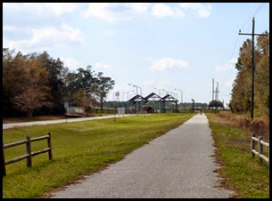 Bike Trail Ends at the Naval Air Station