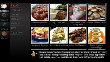 Screenshot of Allrecipes TV