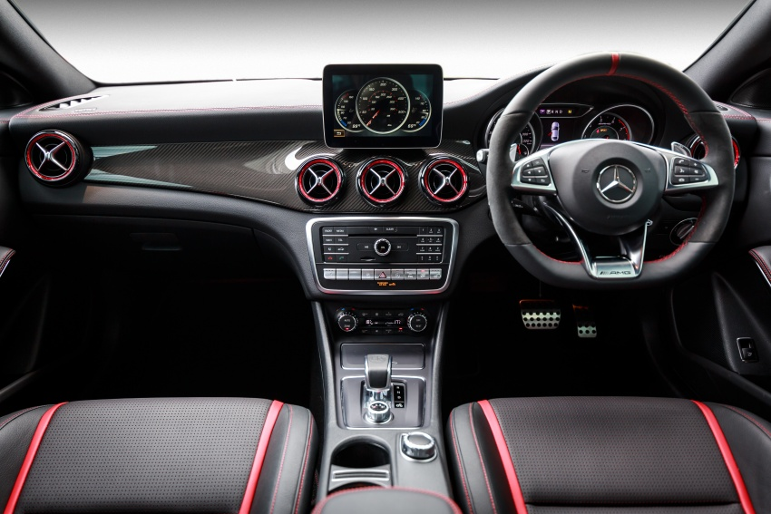 Xe Mercedes Benz CLA45 AMG 4Matic 010