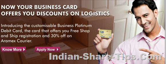 Axis Bank Business Platinum Debit Card