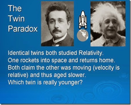 Einstein twin paradox
