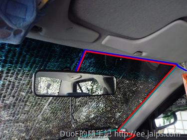 車內後視鏡走線佈線圖