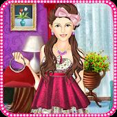 Pink Heart Lady Makeup