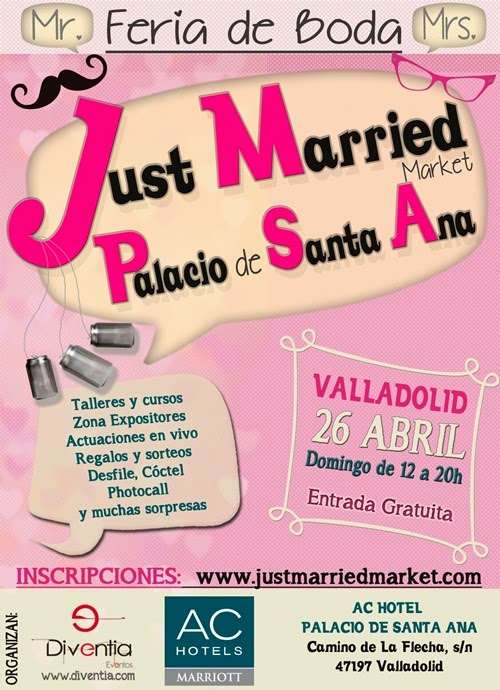 cartel just married market valladolid