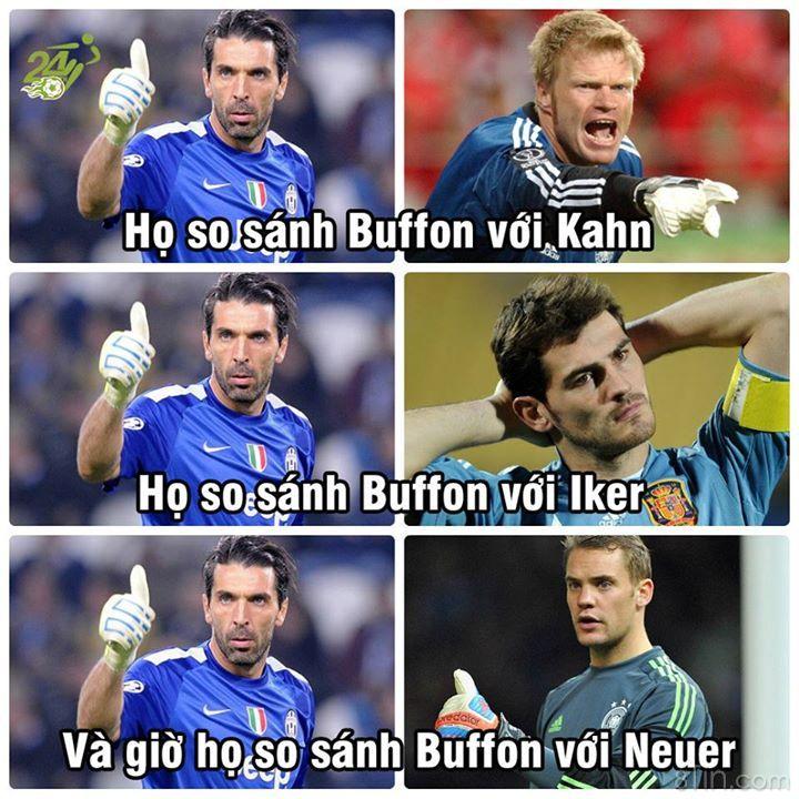 Buffon <3 #bongda #Buffon