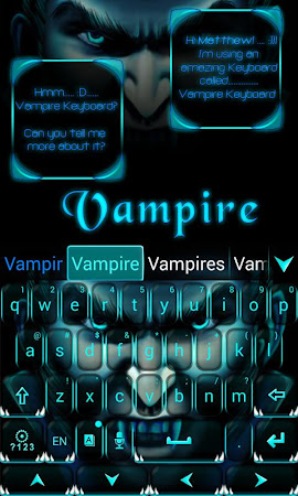 Vampire GO Keyboard Theme 3.87 screenshot 640267