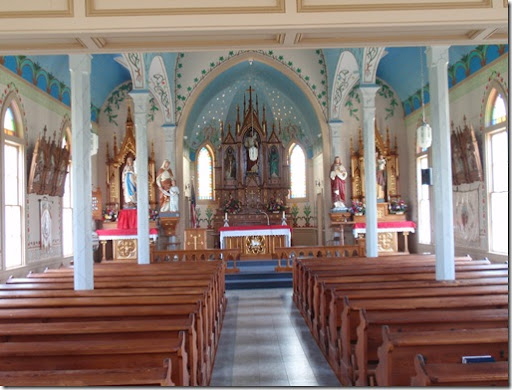 Inside Little White Church