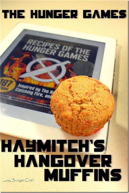 Hunger Games Mockingjay Muffins