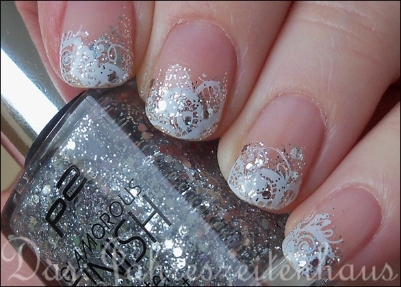 Schnee Winter Nageldesign 5